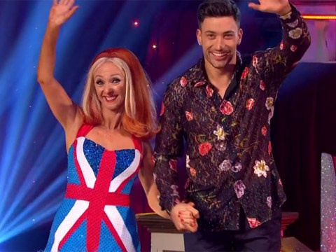 Debbie McGee dressed as Ginger Spice on Strictly's Blackpool special and the viewers couldn't deal