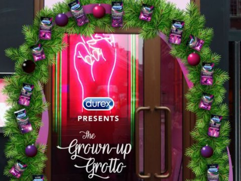 Durex is bringing a naughty grotto to London in December