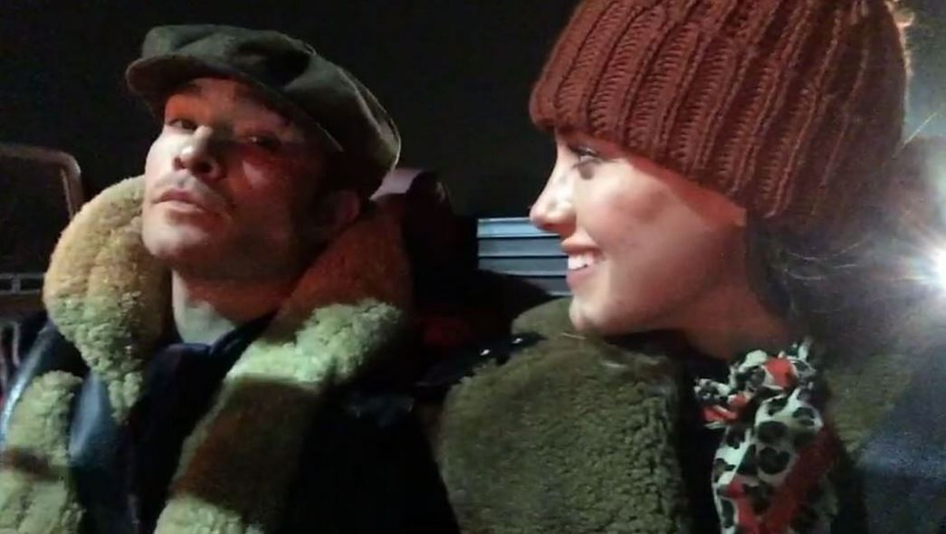 Ed Westwick's girlfriend Jessica Serfaty posts defiant video as they take mini-break amid sexual assault allegations