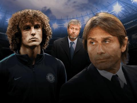 Why Antonio Conte should continue David Luiz's Chelsea exile against West Brom