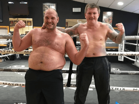 Ricky Hatton tips Tyson Fury to end Anthony Joshua's reign in 2018