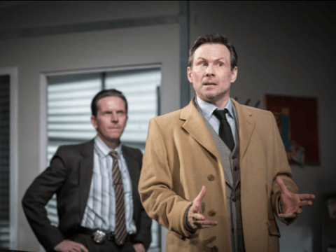 Glengarry Glen Ross review, Playhouse Theatre: Christian Slater charms in this darkly funny play that sometimes forgets to be dramatic