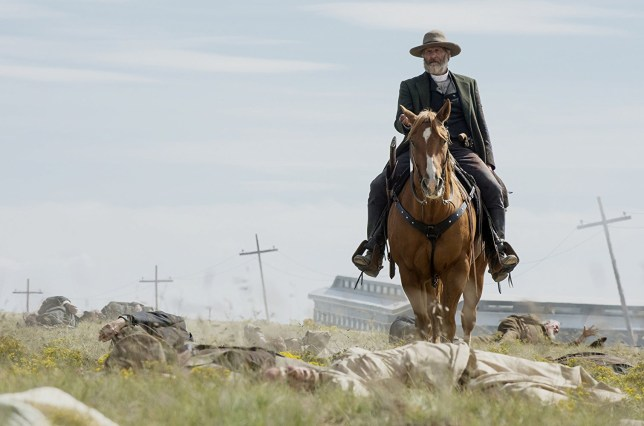 Jeff Daniels in the Netflix show Godless