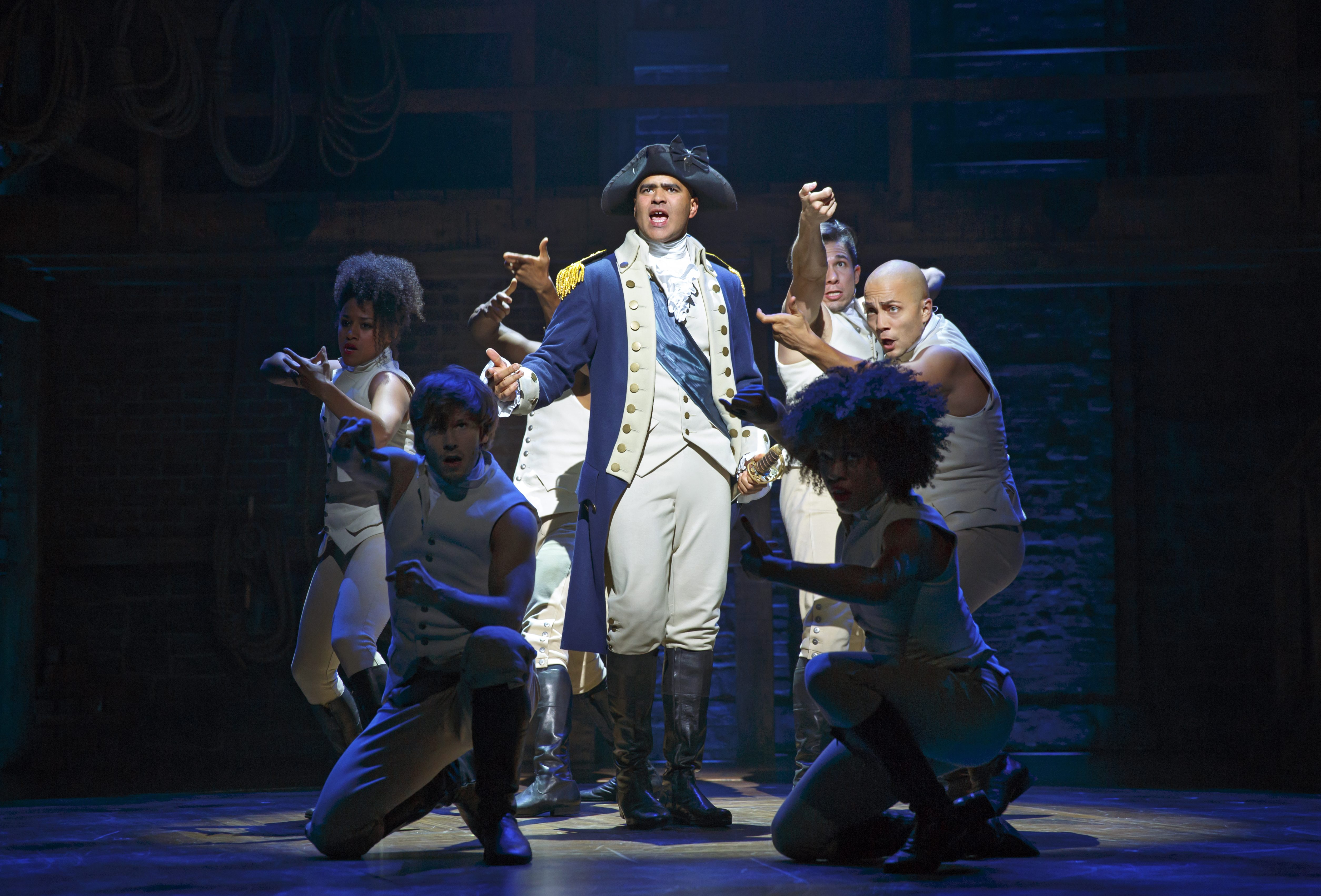 The current state of UK politics makes Hamilton The Musical feel more relevant than ever