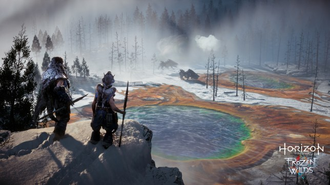 Horizon Zero Dawn: The Frozen Wilds (PS4) - the least ugly game on consoles