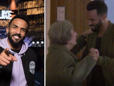 Craig David proves he is the nicest celeb out there during fake granny prank