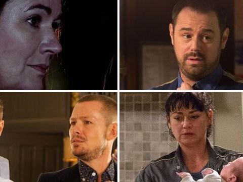 12 soap spoiler pictures: Corrie Phelan fire twist, Cain's Emmerdale secret, EastEnders kiss showdown, Hollyoaks return