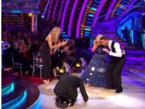Strictly's Craig Revel Horwood bows down and worships Debbie McGee after 'amazing' Tango