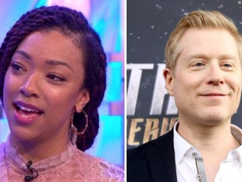 Star Trek's Sonequa Martin-Green praises 'hero' co-star Anthony Rapp for coming forward with Kevin Spacey allegations