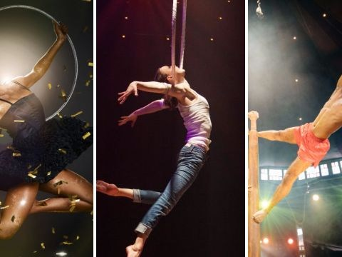 La Soiree is London's unmissable new Christmas show featuring acts who perform death-defying aerial stunts