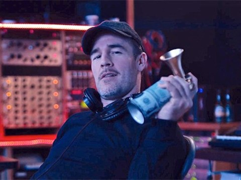 James Van Der Beek on playing Diplo, Modern Family and the power of electronic music