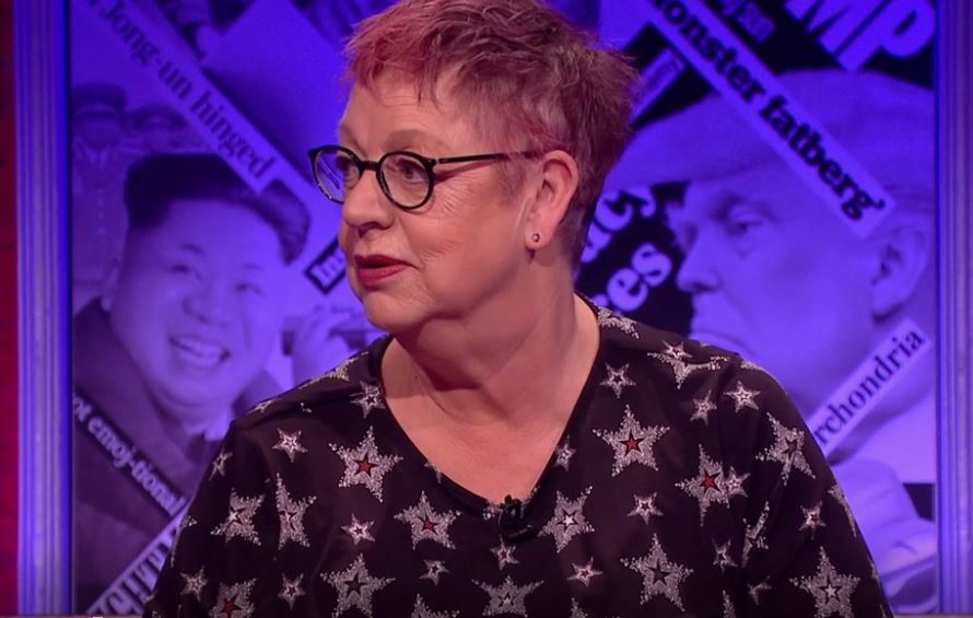 Jo Brand calls out the Have I Got News For You panel for not taking sexual harassment seriously