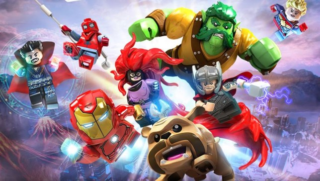 Lego Marvel Super Heroes 2 - how many can you name?
