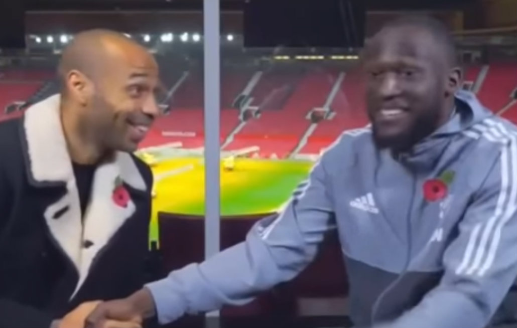 Thierry Henry trolls Manchester United star Romelu Lukaku over penalty snub against Benfica
