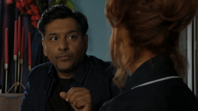 Masood has bad news about Carmel's house in EastEnders