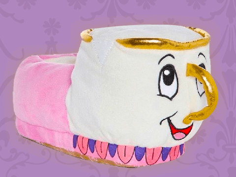 Primark is selling Beauty and the Beast's Chip in slipper-form