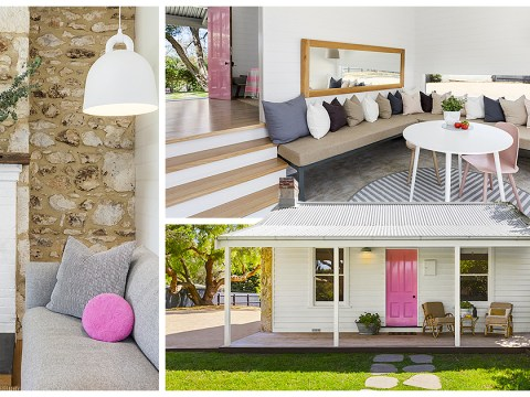 Millennial pink one-bedroom home is on sale for £1.2 million
