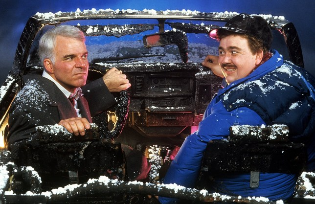 Steve Martin and John Candy in Planes, Trains & Automobiles