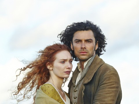 Poldark's Eleanor Tomlinson would be 'upset' if Aidan Turner were still paid more