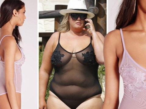 Where can I get Gemma Collins' see-through swimsuit from? Get the GC look for yourself