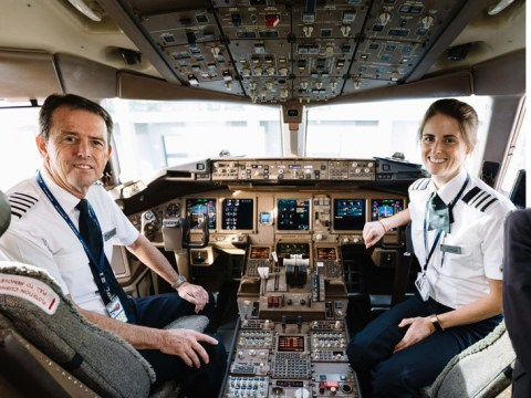 Father and daughter fly last flight together as British Airways pilots