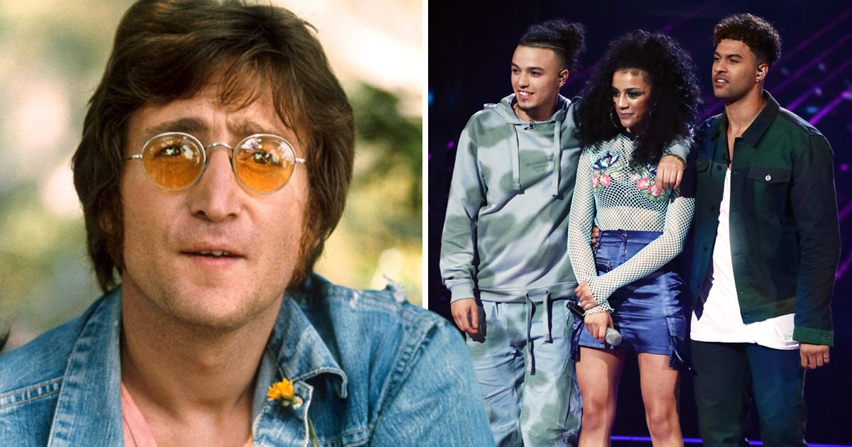 X Factor trio The Cutkelvins are related to John Lennon