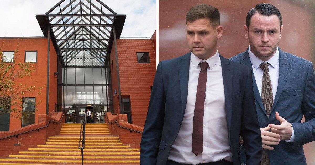 Professional footballers spared jail over drunken brawl outside nightclub