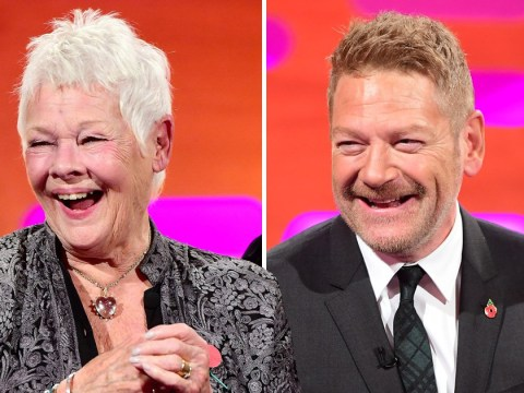 Kenneth Branagh reveals how Judi Dench once 'flashed him' in a dressing room