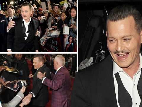Johnny Depp's camp 'deny claims he was drunk at Murder On The Orient Express premiere'