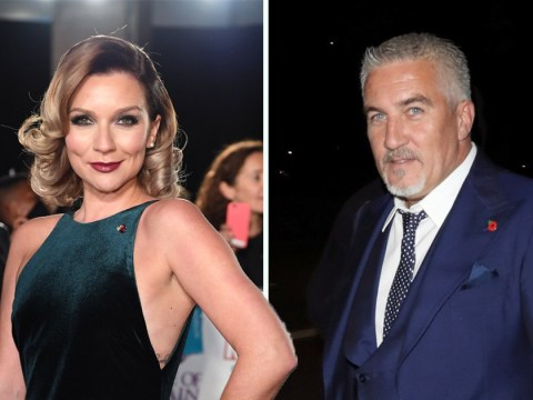 Candice Brown laughs off claims she was snogging Great British Bake Off's Paul Hollywood