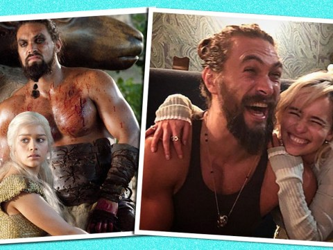 Game Of Thrones' Emilia Clarke shares reunion picture with her 'sun and stars' Jason Momoa