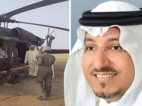Saudi prince killed in helicopter crash near kingdom's Yemen border