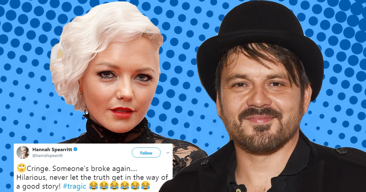 Hannah Spearritt savagely takes down 'tragic' ex Paul Cattermole after he claimed she dumped him for Hollywood