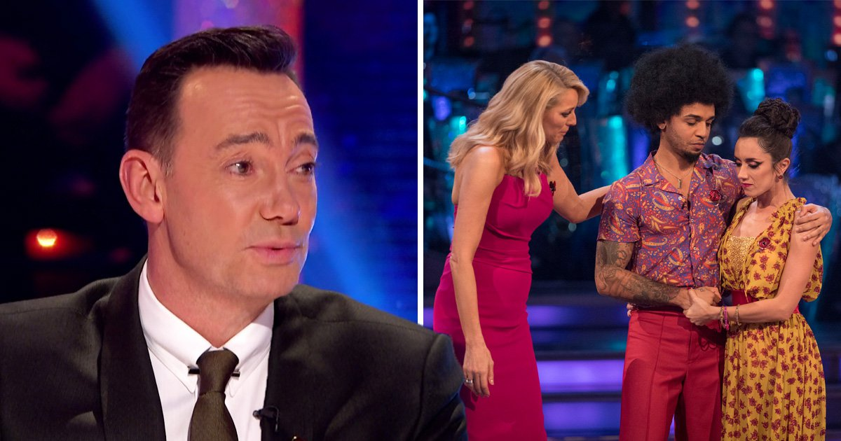 Craig Revel Horwood hits back at 'rubbish' claims he's to blame for Aston Merrygold's shock Strictly exit
