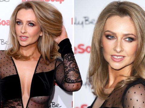 Gemma Merna upstages former castmates in sheer mesh dress at Inside Soap Awards