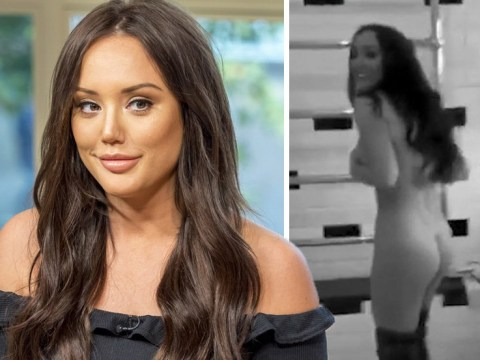 Charlotte Crosby goes butt-naked in daring Snapchat video