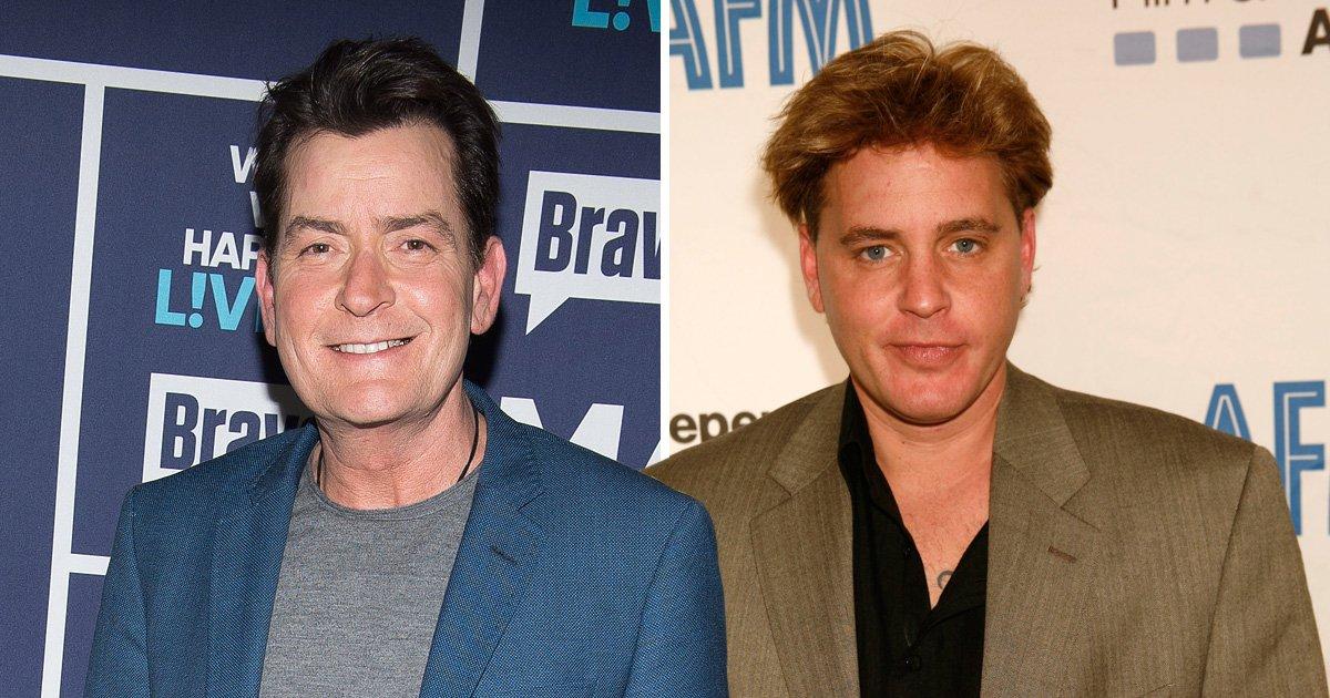 Charlie Sheen sues National Enquirer for defamation over Corey Haim rape allegations