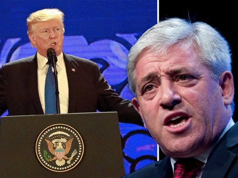 Donald Trump 'still not welcome' in Parliament, says John Bercow