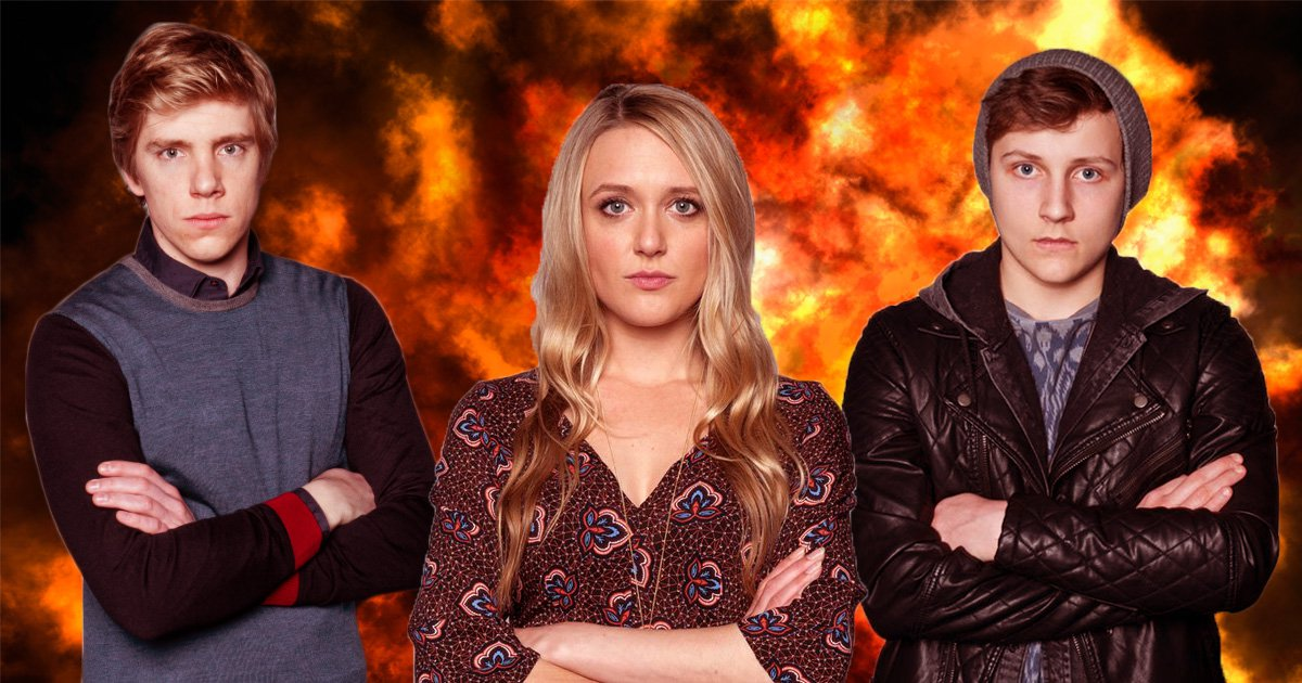 Emmerdale stunt may kill Robert, Rebecca and Lachlan
