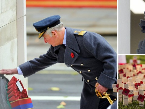 British soldiers honoured across the country on Remembrance Sunday