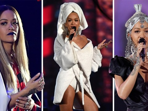 Rita Ora praised for 'amazing' MTV EMAs presenting skills as she expertly changes outfits 13 times