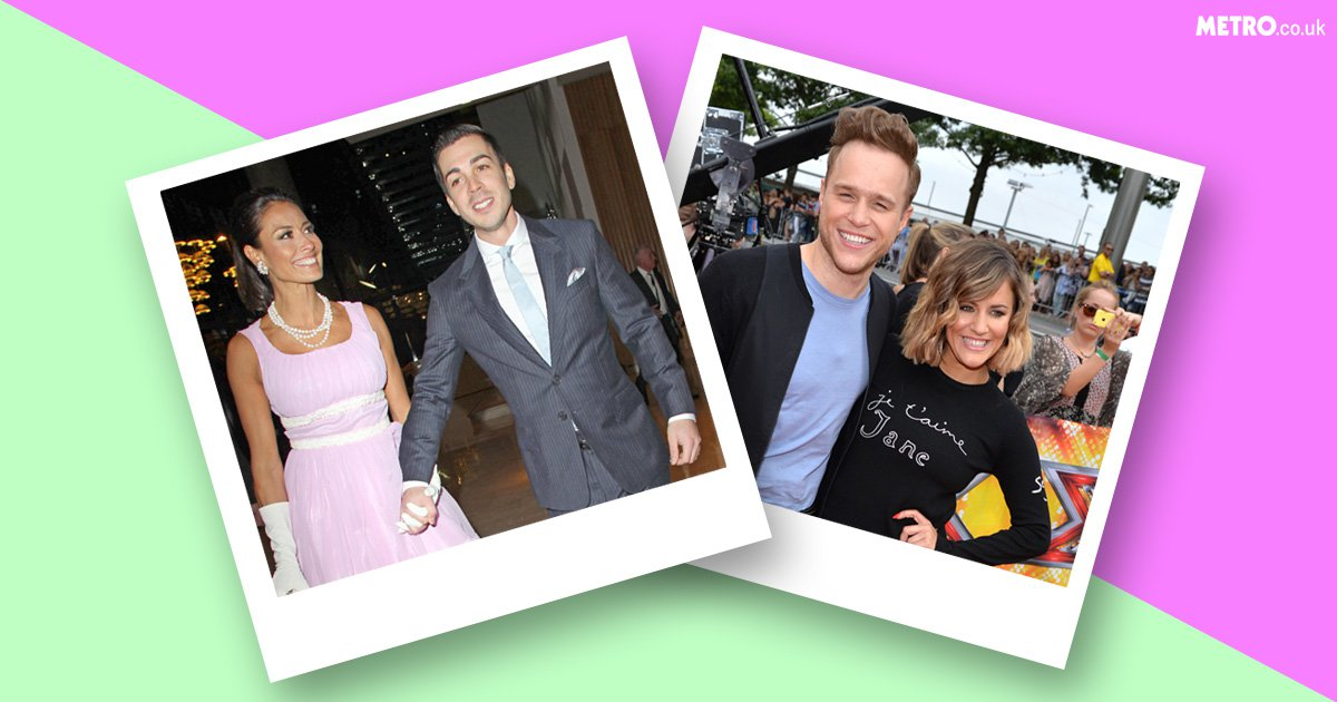 Olly Murs and Melanie Sykes – who they've dated and for how long