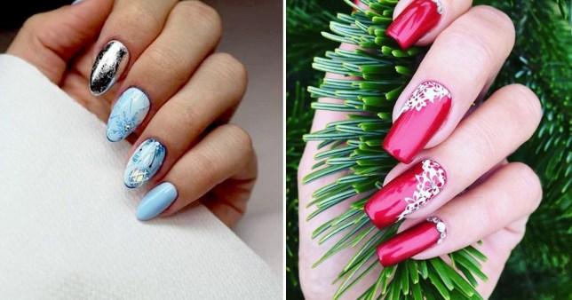 Christmas Nail Designs.Christmas Nails 25 Festive Themed Nail Designs For Stunning