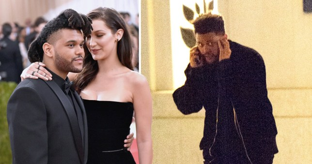 The Weeknd Flees Bella Hadid S Apartment Sparking Reunion