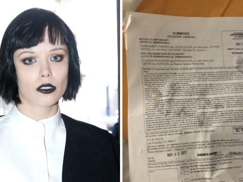 Crystal Castles' Alice Glass 'hit with legal summons by person pretending to be a fan'