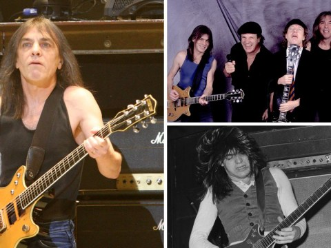Rock legends pay tribute to AC/DC founder Malcolm Young