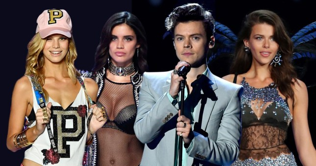 db5b5861490 Harry Styles performs at Victoria s Secret Show with exes Georgia ...