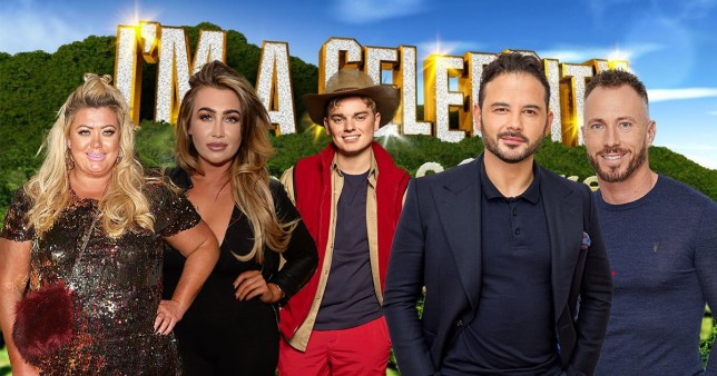 jack maynard, gemma collins, lauren goodger, ryan thomas, james jordan
