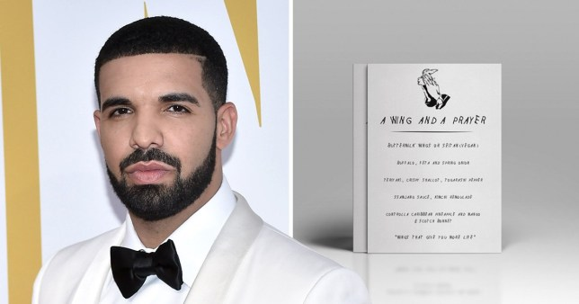 Drake themed chicken wing bar opening in scotland