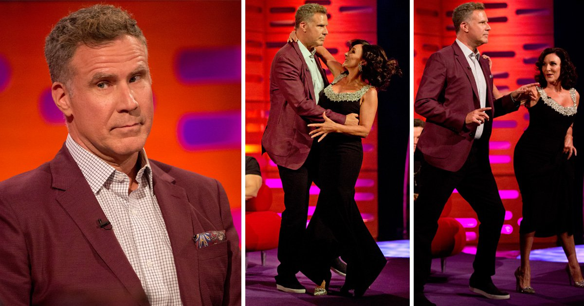Will Ferrell dancing the Rumba on The Graham Norton Show is everything